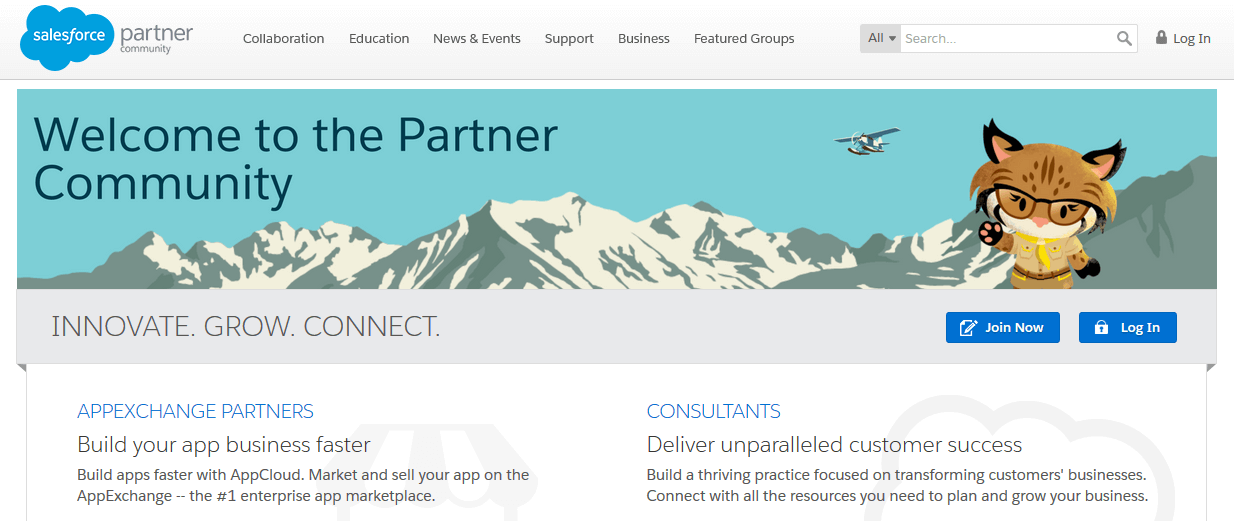 salesforce partner community