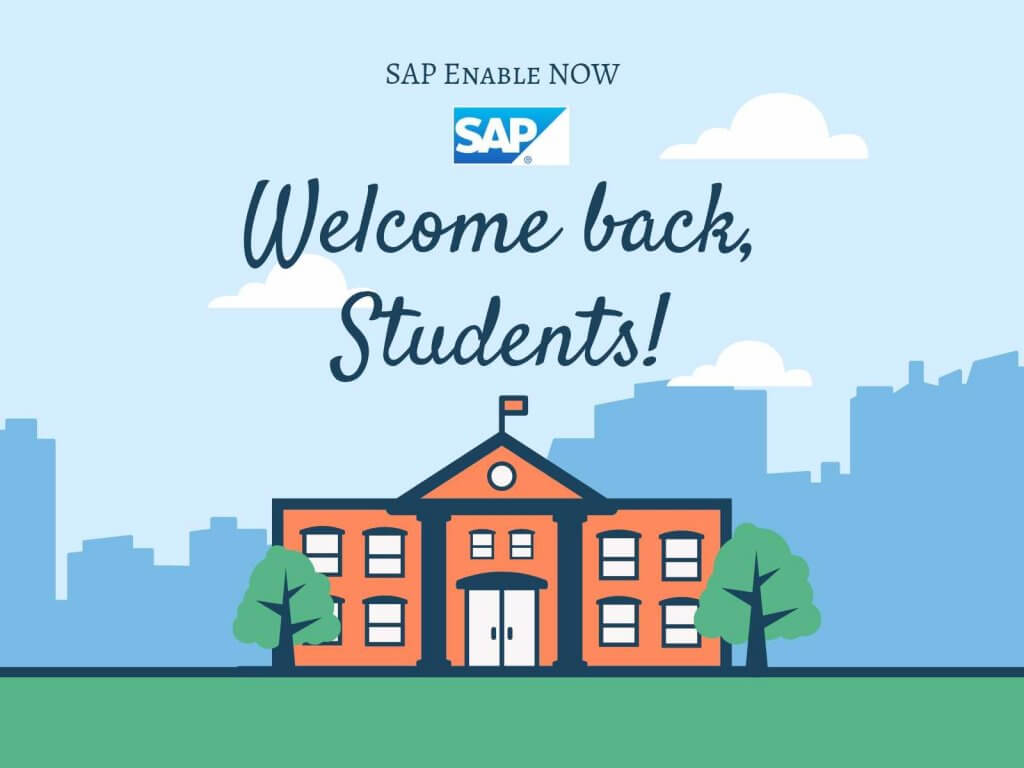 SAP Enable Now? Effective form of Online Courses