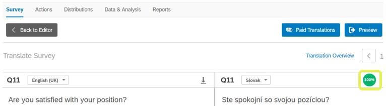 How to easily create a survey language mutation in Qualtrics? 1