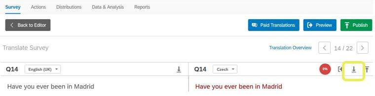 How to easily create a survey language mutation in Qualtrics? 2