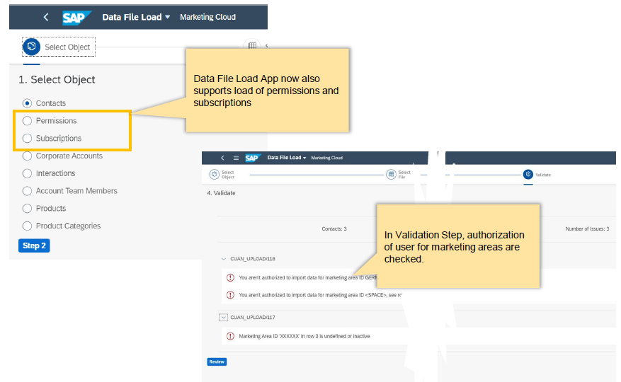 What's new in SAP Marketing Cloud 2005 1