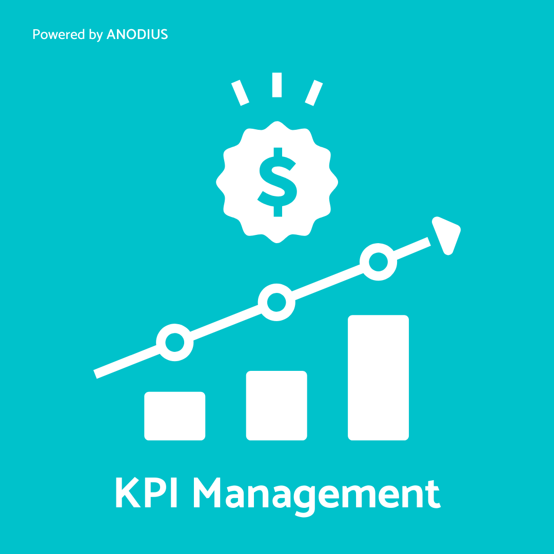 kpi-management-planning-reporting-and-anodous-solution-icon