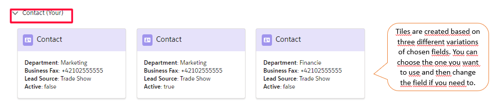 Tired of filling the fields over and over again in Salesforce 3