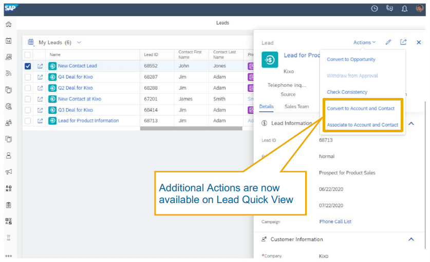 What's new in SAP Sales Cloud 2008 8