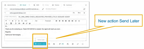 What's New in SAP Service Cloud 2011 2